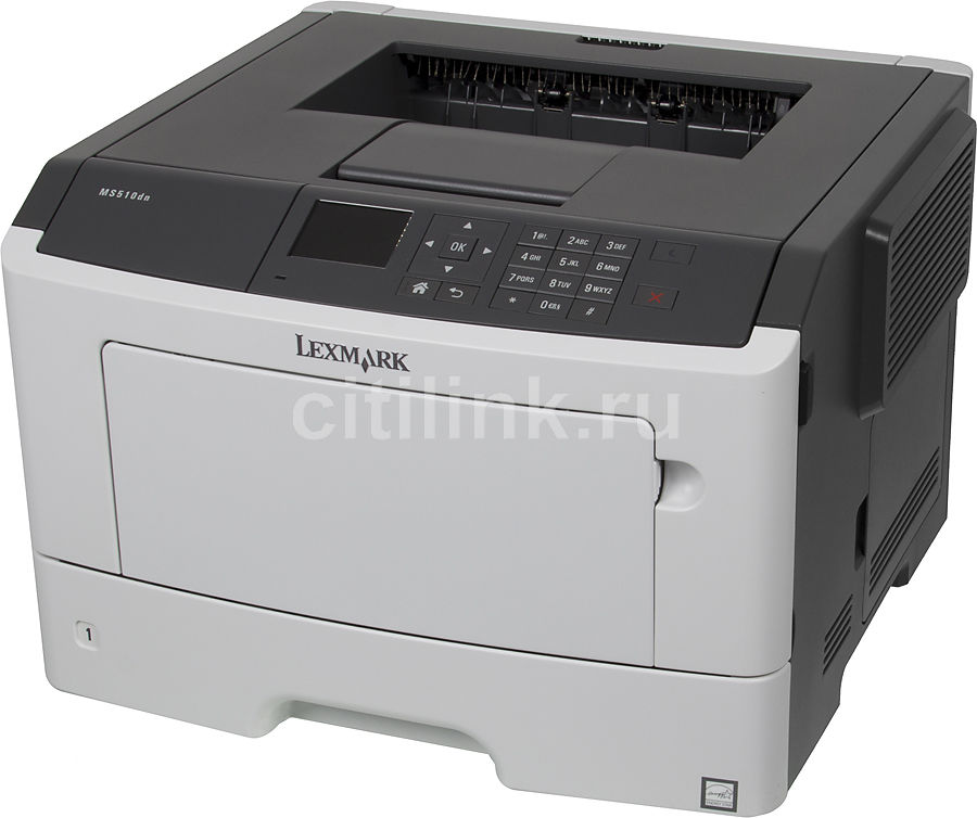 Принтер LEXMARK MS510dn (35S0330) лазерный, цвет:  белый