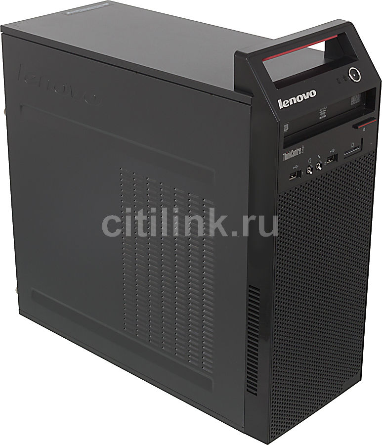 Компьютер  LENOVO ThinkCentre Edge 92 MT,  Intel  Core i3  3220,  DDR3 4Гб, 500Гб,  Intel HD Graphics 2500,  DVD-RW,  CR,  Windows 7 Professional,  черный [rb638ru]