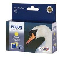 Картридж EPSON C13T08144A желтый