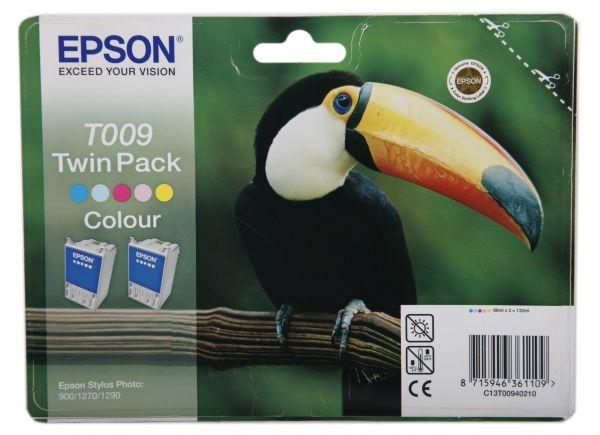 Двойная упаковка картриджей EPSON T009 многоцветный [c13t00940210]