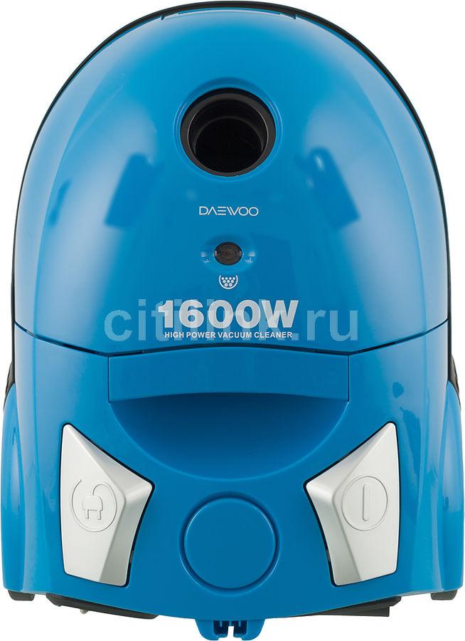 Пылесос DAEWOO RC-5500SA, 1600Вт, голубой