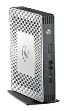 Тонкий клиент  HP t610,  AMD  T56N,  DDR3 2Гб, 16Гб(SSD),  AMD Radeon HD 6320,  без ODD,  Windows Embedded Standard 7,  серебристый и черный [b8c96aa]
