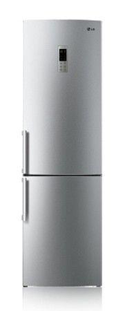 Холодильник LG GW-B489EAQW,  двухкамерный,  серебристый