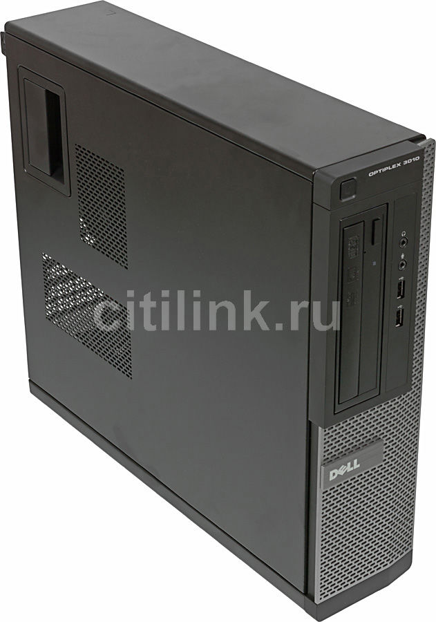 Компьютер  DELL Optiplex 3010 DT,  Intel  Core i5  3470,  DDR3 4Гб, 1Тб,  Intel HD Graphics 2500,  DVD-RW,  Windows 7 Professional,  черный и серебристый [210-40058]