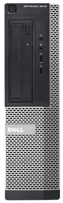 Компьютер  DELL Optiplex 7010 DT,  Intel  Core i5  3470,  DDR3 4Гб, 1Тб,  Intel HD Graphics 2500,  DVD-RW,  Windows 7 Professional,  черный и серебристый [210-39463]