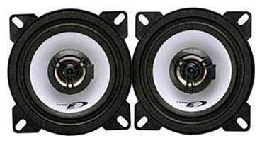 Колонки автомобильные ALPINE SXE-1025S,  коаксиальные,  180Вт