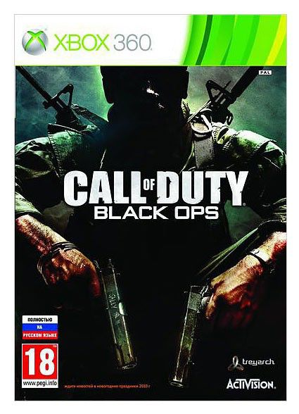 Игра MICROSOFT Call of Duty: Black Ops (3D) (Classics) для  Xbox360 Rus