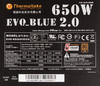 Блок питания THERMALTAKE EVO Blue EVO-650M Gold,  650Вт,  135мм,  черный, retail вид 4