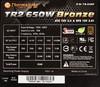 Блок питания THERMALTAKE TR2 SMART TR-650P Bronze,  650Вт,  115мм,  черный, retail вид 4