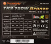 Блок питания THERMALTAKE TR2 SMART TR-750P Bronze,  750Вт,  140мм,  черный, retail вид 4