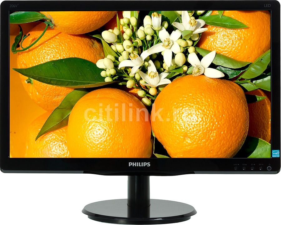 Монитор ЖК PHILIPS 206V4LSB2 (00/01) 20