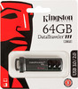Флешка USB KINGSTON DataTraveler 64Гб, USB3.0, черный и черный [dt111/64gb] вид 4