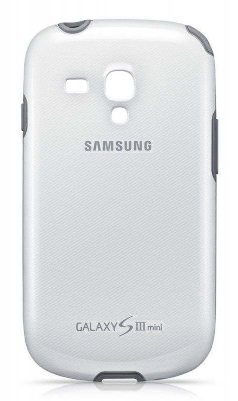 Чехол (клип-кейс) SAMSUNG EFC-1M7BWE, для Samsung Galaxy S III mini, белый [efc-1m7bwegstd]