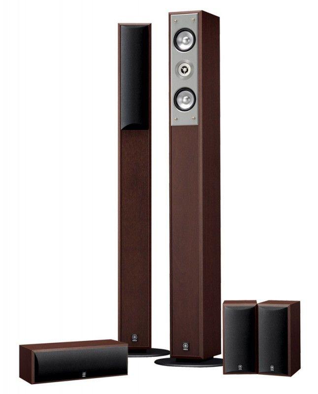 Акустическая система YAMAHA NS-PC210,  5.0,  коричневый