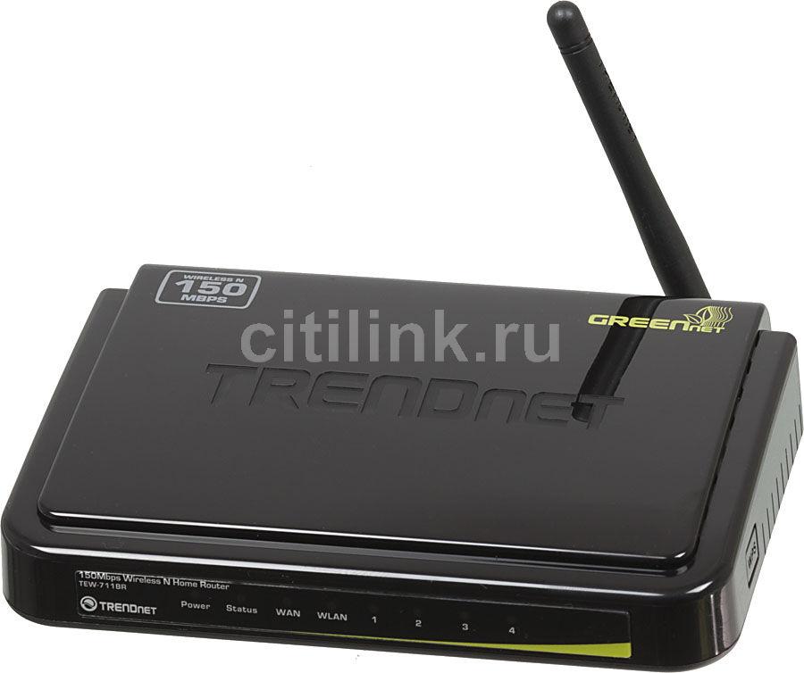 Беспроводной маршрутизатор TRENDNET TEW-711BR