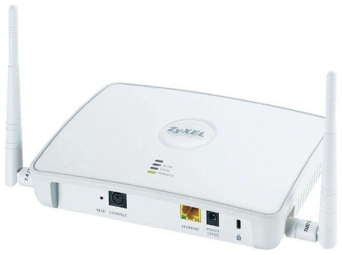 Точка доступа двухдиапазонная ZyXEL NWA3160-N Wi-Fi 802.11agn PoE wf