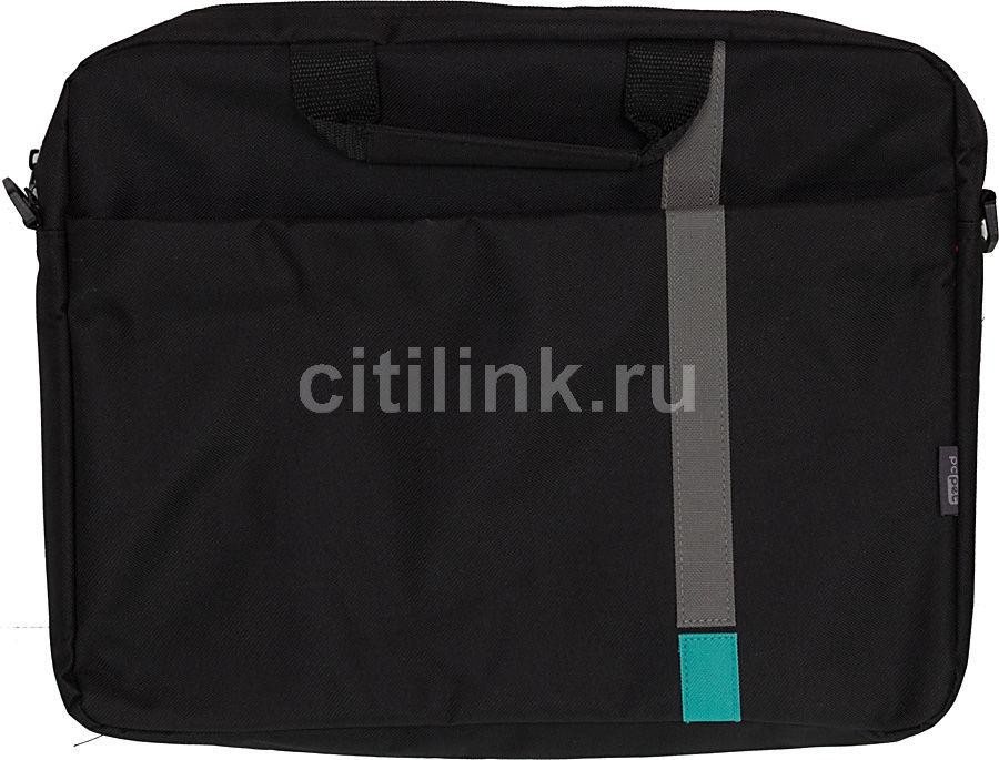 """Сумка для ноутбука 15.6"""" PC PET HQ Classic, черный [pcp-1001tq]"""