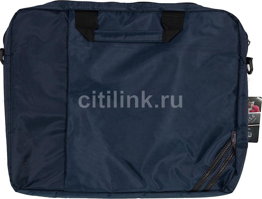 """Сумка для ноутбука 15.6"""" PC PET PCP-1004BL, темно-синий"""