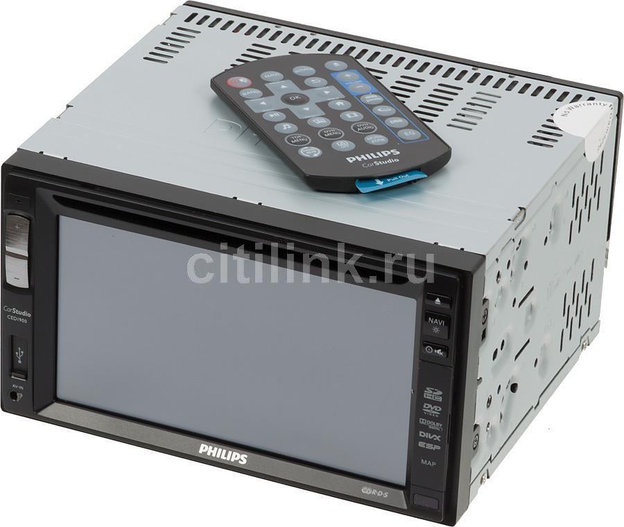Автомагнитола PHILIPS CED1900/51,  USB,  SDHC