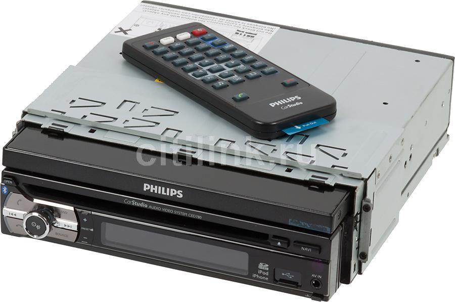 Автомагнитола PHILIPS CED780/51,  USB,  SDHC