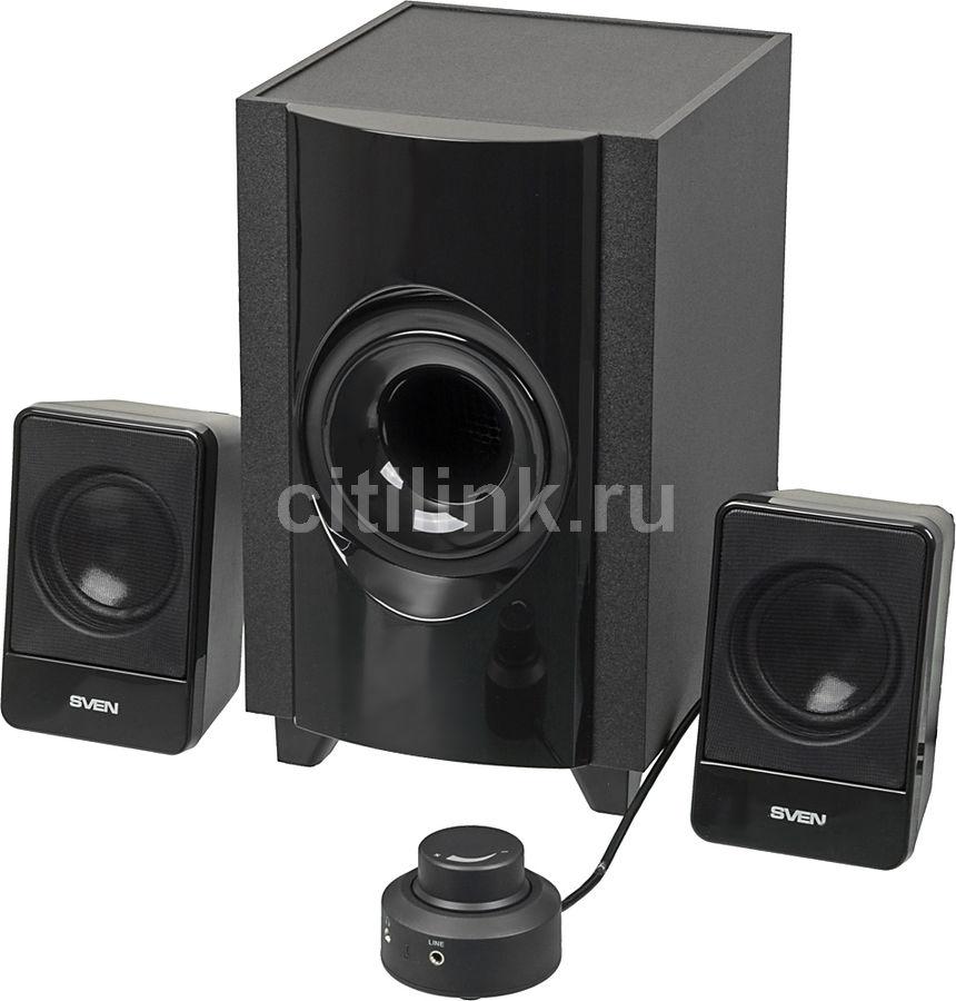 Колонки SVEN MS-306,  черный