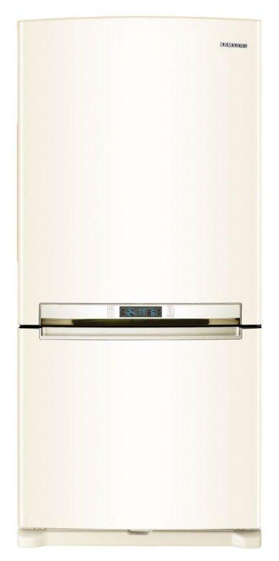 Холодильник SAMSUNG RL61ZBVB,  двухкамерный,  бежевый [rl61zbvb1/bwt]