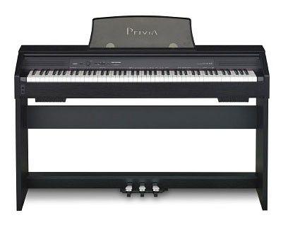 Цифровое фортепиано PRIVIA CASIO PX-750BK, 88, полновзвешенная, полноразмерные, 128, черный
