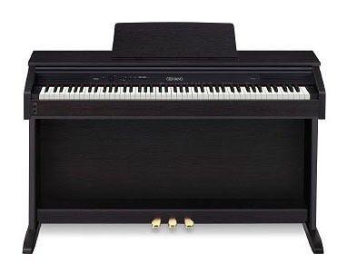 Цифровое фортепиано CELVIANO CASIO AP-250ВК, 88, полновзвешенная, полноразмерные, 128, черный матовый [ap-250bk]