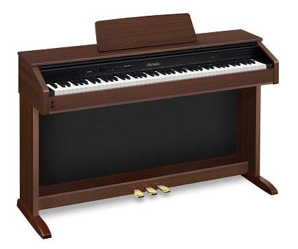 Цифровое фортепиано CELVIANO CASIO AP-450ВN, 88, полновзвешенная, полноразмерные, 256, коричневый [ap-450bn]