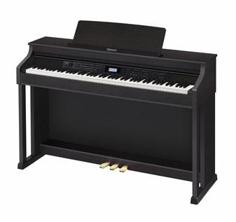 Цифровое фортепиано CELVIANO CASIO AP-650BK, 88, полновзвешенная, полноразмерные, 256, черный матовый [ap-650mbk]