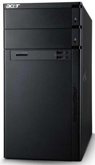 Компьютер  ACER Aspire M1470,  AMD  A6  3620,  DDR3 4Гб, 500Гб,  AMD Radeon HD 8570 - 2048 Мб,  DVD-RW,  CR,  Free DOS,  черный [dt.sm0er.015]