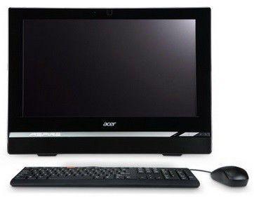 Моноблок ACER Aspire Z1620, Intel Pentium G2020, 4Гб, 500Гб, Intel HD Graphics, DVD-RW, Windows 8, черный и серебристый [dq.smaer.017]