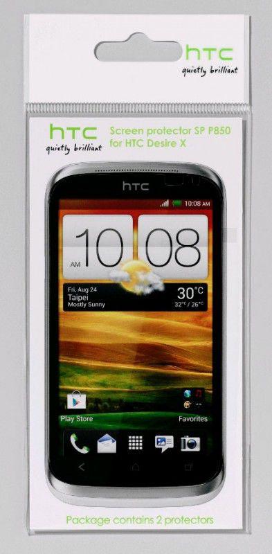 Защитная пленка HTC SP P850  для HTC Desire X,  прозрачная, 2 шт