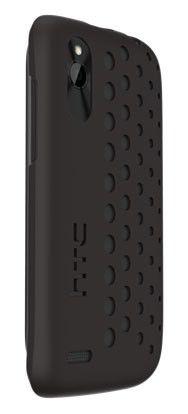 Чехол (клип-кейс) HTC HC C800, для HTC Desire X/Desire V, черный [hc c800 черный]
