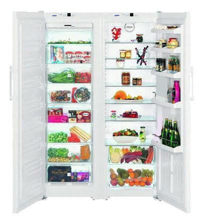Холодильник LIEBHERR SBS 7212,  двухкамерный,  белый [дубль использовать 284064]