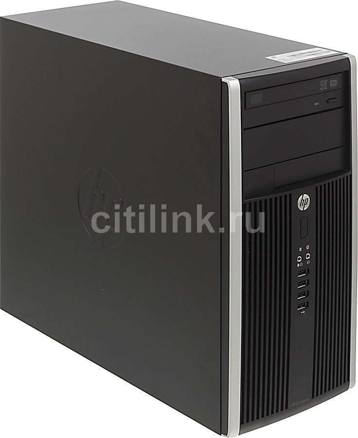 Компьютер  HP Elite 8300 MT,  Intel  Core i5  3470,  DDR3 4Гб, 1000Гб,  Intel HD Graphics 2500,  DVD-RW,  Free DOS,  черный [h4v77es]
