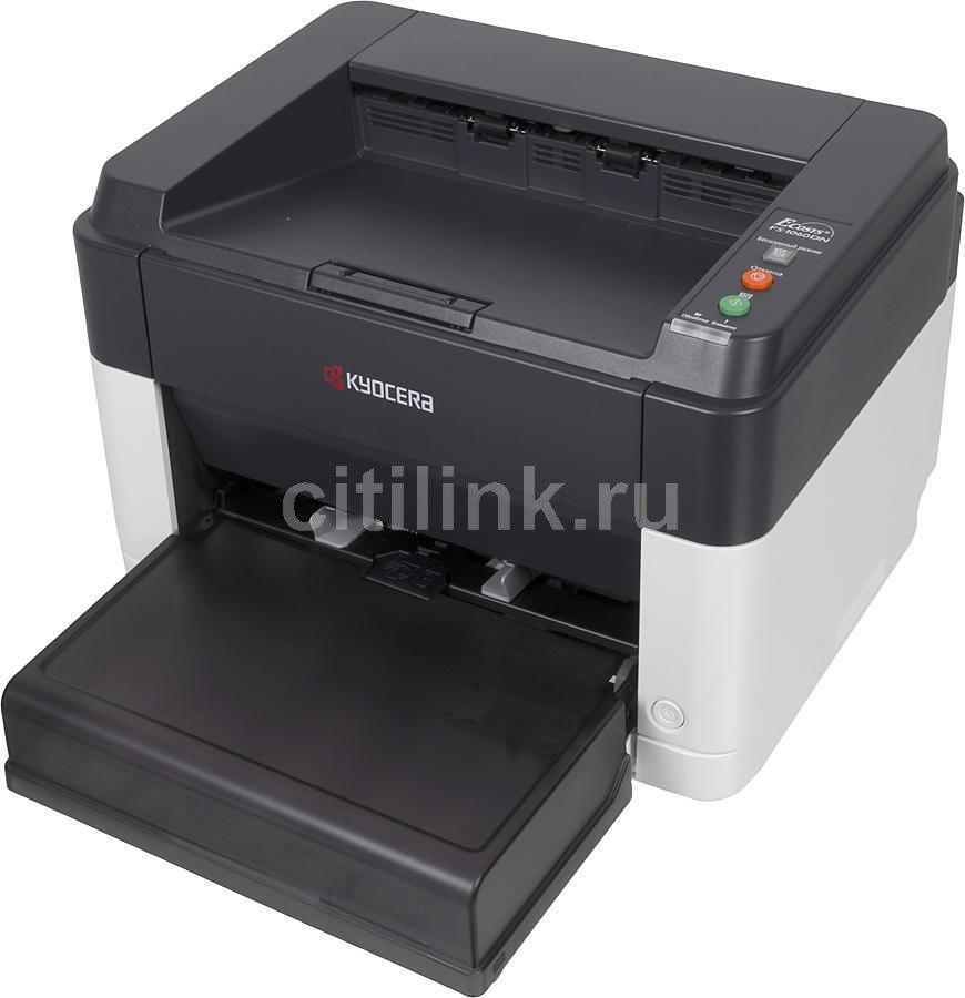 Принтер KYOCERA FS-1060DN лазерный, цвет:  белый [1102m33ru0]