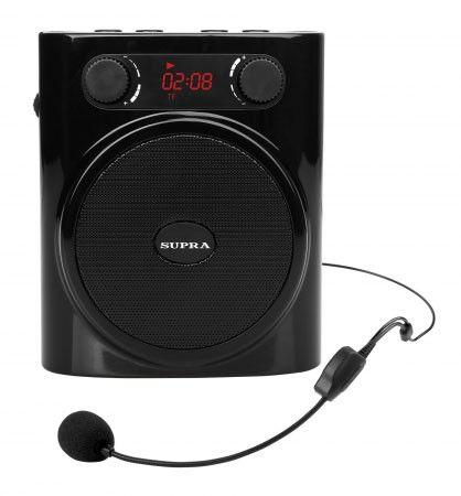 Аудиомагнитола SUPRA SPH-01K,  черный