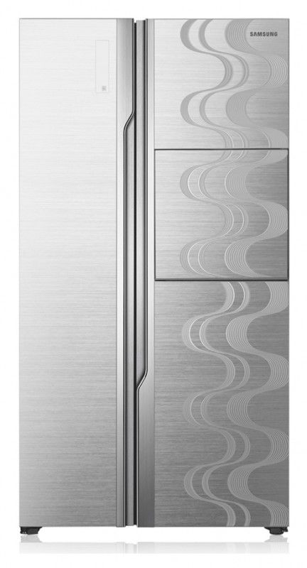 Холодильник SAMSUNG RS844CRPC5H,  двухкамерный,  серебристый [rs844crpc5h/rs]