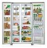 Холодильник SAMSUNG RS844CRPC5H,  двухкамерный,  серебристый [rs844crpc5h/rs] вид 2