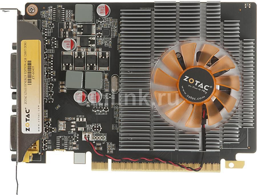 Видеокарта ZOTAC GeForce GT 630,  4Гб, DDR3, oem [zt-60405-10b]