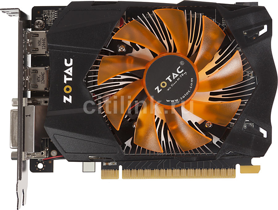 Видеокарта ZOTAC GeForce GTX 650,  2Гб, GDDR5, Ret [zt-61007-10m]