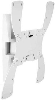 """Кронштейн для телевизора Holder LCDS-5019 белый 22""""-42"""" макс.30кг настенный поворотно-выдвижной и на"""