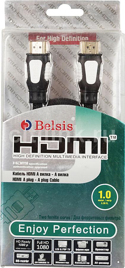 Кабель аудио-видео  BW3316,  HDMI (m)  -  HDMI (m) ,  1м, ф/фильтр