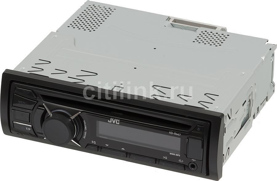 Автомагнитола JVC KD-R447EE,  USB
