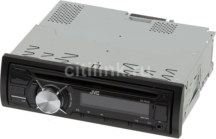 Автомагнитола JVC KD-R449EE,  USB