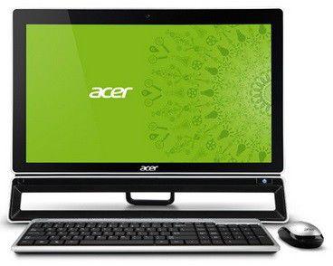 Моноблок ACER Aspire ZS600, Intel Pentium G2020, 4Гб, 500Гб, nVIDIA GeForce 605 - 1024 Мб, DVD-RW, Windows 8, черный [dq.sluer.018]
