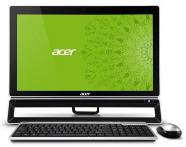 Моноблок ACER Aspire ZS600t, Intel Core i3 3220, 4Гб, 1000Гб, nVIDIA GeForce GT620 - 2048 Мб, DVD-RW, Windows 8, черный [dq.slter.017]