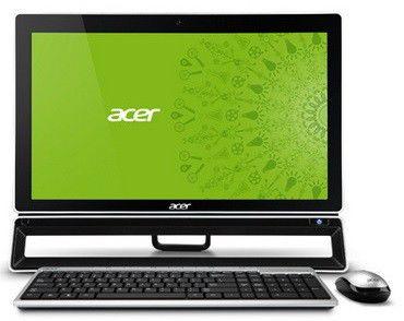 Моноблок ACER Aspire ZS600t, Intel Core i5 3330S, 4Гб, 1000Гб, nVIDIA GeForce GT620 - 2048 Мб, DVD-RW, Windows 8, черный [dq.slter.015]
