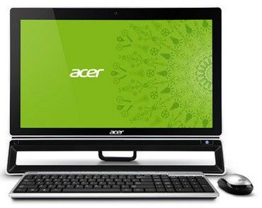 Моноблок ACER Aspire ZS600t, Intel Core i7 3770, 4Гб, 1000Гб, nVIDIA GeForce GT620 - 2048 Мб, DVD-RW, Windows 8, черный [dq.slter.020]